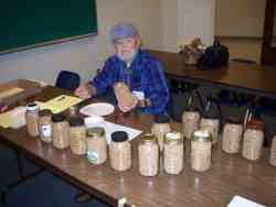 Judging Quart Jars of Wheat
